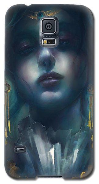 Galaxy S5 Case featuring the digital art Judith V1 by Te Hu