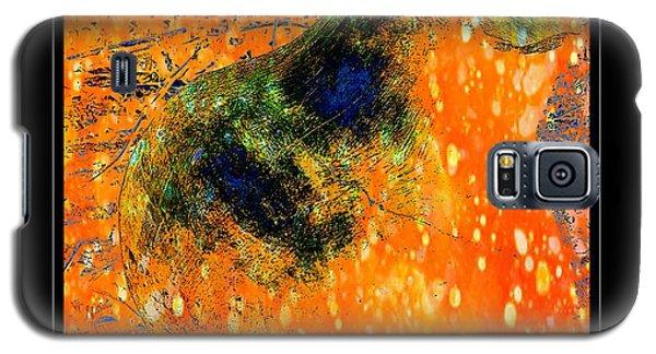 Jug In Black And Orange Galaxy S5 Case