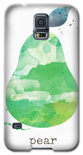 Pear Galaxy S5 Case - Juicy Pear by Linda Woods