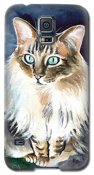 Juju - Cashmere Bengal Cat Painting Galaxy S5 Case