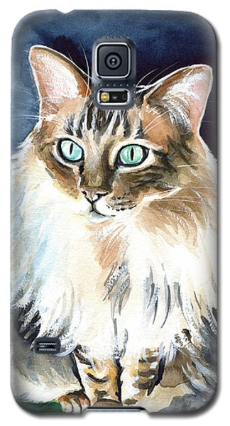 Juju - Cashmere Bengal Cat Painting Galaxy S5 Case