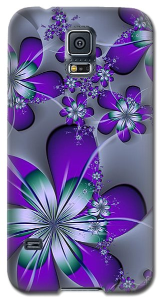 Galaxy S5 Case featuring the digital art Julia The Florist by Michelle H