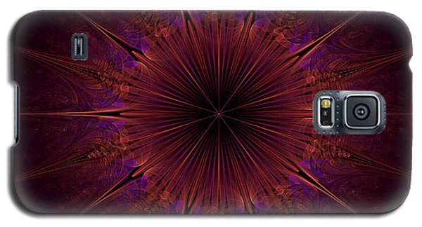 The Violet Blessings Of The Crown Chakra Galaxy S5 Case