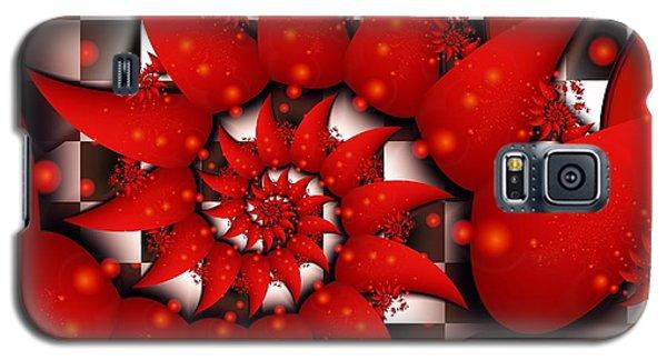 Julias Summer Red Galaxy S5 Case by Michelle H
