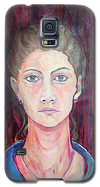 Julie Self Portrait Galaxy S5 Case