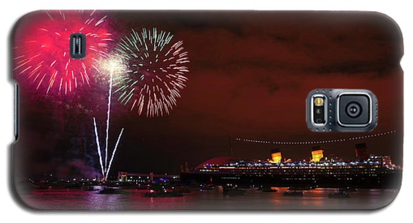 July 4th Fireworks - Long Beach California Galaxy S5 Case