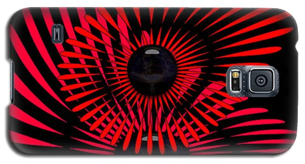 Galaxy S5 Case featuring the digital art July by Robert Orinski