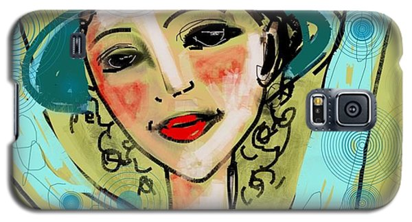 Galaxy S5 Case featuring the digital art Jump For Joy by Elaine Lanoue