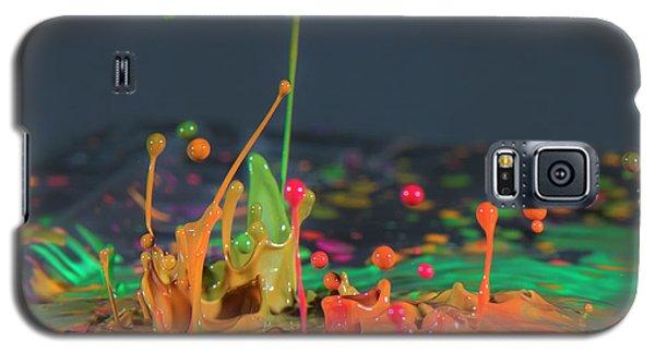 Explosive Paint Galaxy S5 Case