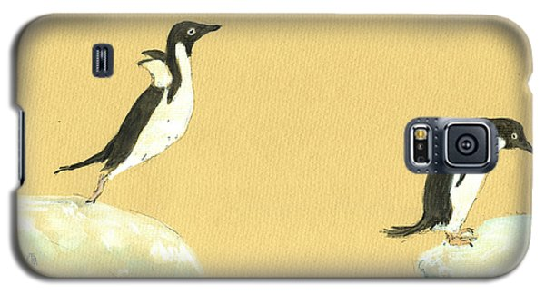 Jumping Penguins Galaxy S5 Case