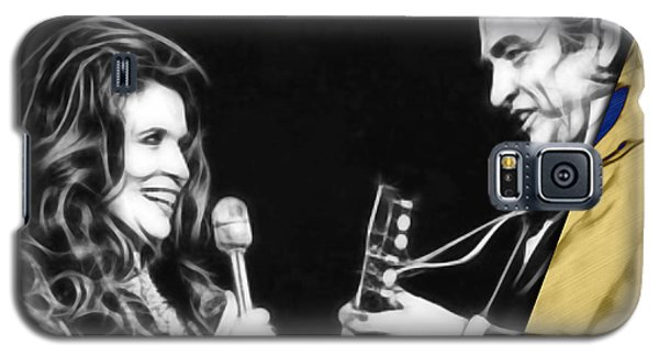 June Carter And Johnny Cash Collection Galaxy S5 Case by Marvin Blaine