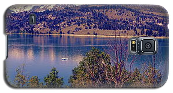 June Lake Panorama Galaxy S5 Case
