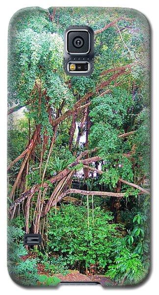 Galaxy S5 Case featuring the pyrography Jungle A Selva by Yury Bashkin