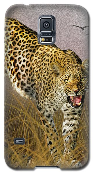 Galaxy S5 Case featuring the photograph Jungle Attitude by Diane Schuster