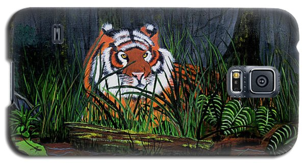 Jungle Cat Galaxy S5 Case by Myrna Walsh