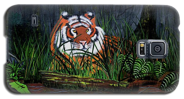 Jungle Cat Galaxy S5 Case
