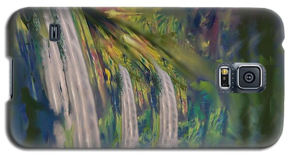 Jungle Falls Galaxy S5 Case