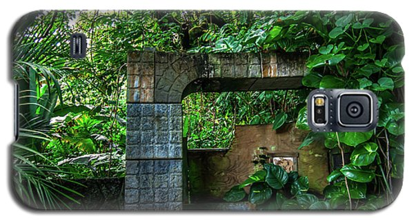 Jungle Gate Hana Maui Hawaii Galaxy S5 Case