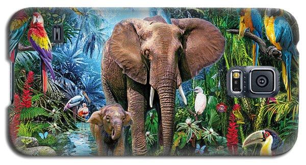 Jungle Galaxy S5 Case
