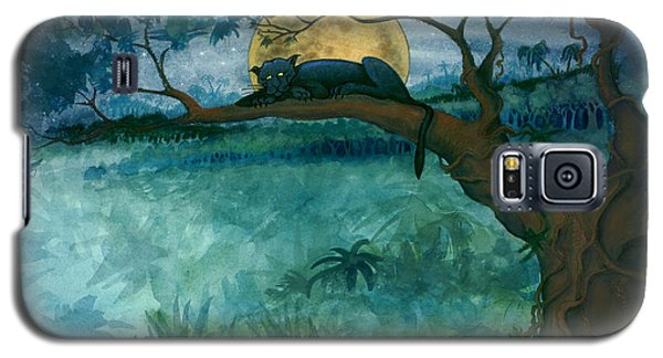 Jungle Panther Galaxy S5 Case
