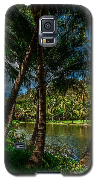 Jungle River Palms Kauai Galaxy S5 Case