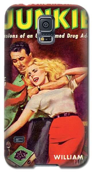 Galaxy S5 Case featuring the painting Junkie by Al Rossi