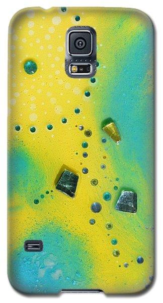 Jupiter Blue Galaxy S5 Case