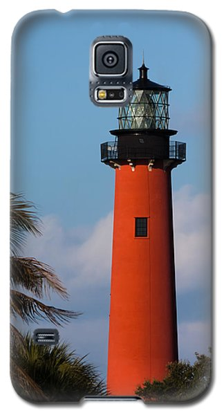 Jupiter Inlet Lighthouse Galaxy S5 Case by Ed Gleichman