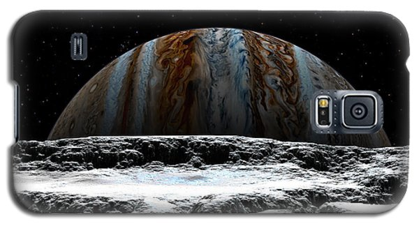 Jupiter Rise At Europa Galaxy S5 Case