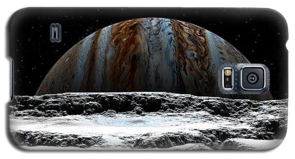 Jupiter Rise At Europa Galaxy S5 Case