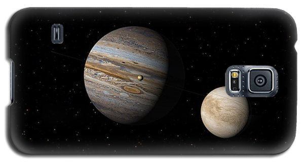 Jupiter With Io And Europa Galaxy S5 Case