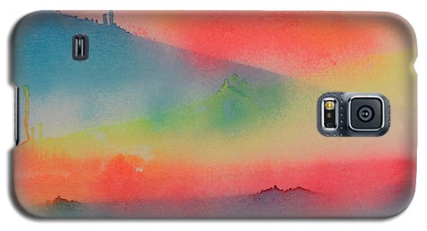 Galaxy S5 Case featuring the painting Jupiter's Window by Patrick Morgan