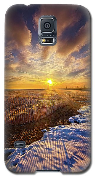 Galaxy S5 Case featuring the photograph Just A Bit More To Go by Phil Koch