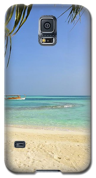 Just A Boat Ride Away Galaxy S5 Case