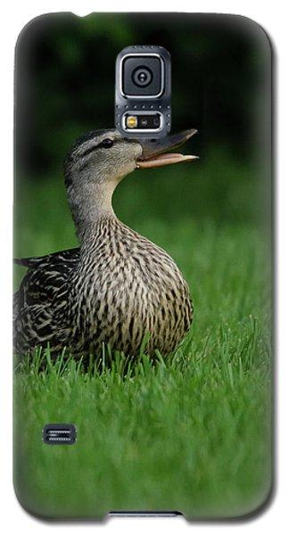 Just A Happy Duck Galaxy S5 Case