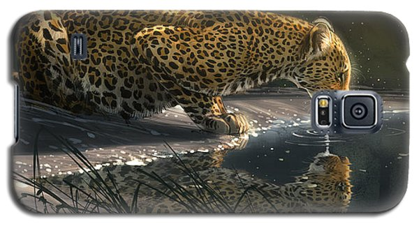 Galaxy S5 Case featuring the digital art Just A Sip by Aaron Blaise