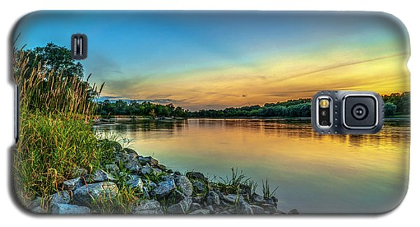 Just After Sun Went Down Galaxy S5 Case