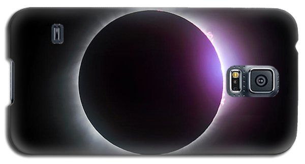 Just After Totality - Solar Eclipse August 21, 2017 Galaxy S5 Case