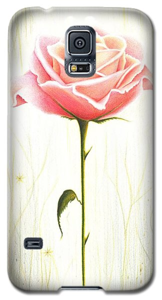 Galaxy S5 Case featuring the drawing Just Another Common Beauty by Danielle R T Haney