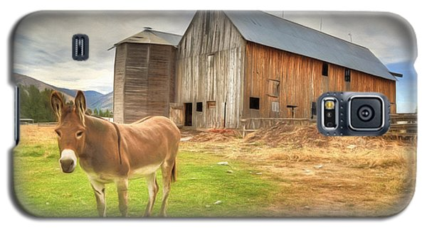 Just Another Day On The Farm Galaxy S5 Case