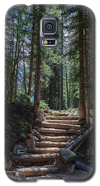 Galaxy S5 Case featuring the photograph Just Another Stairway To Heaven by James BO Insogna