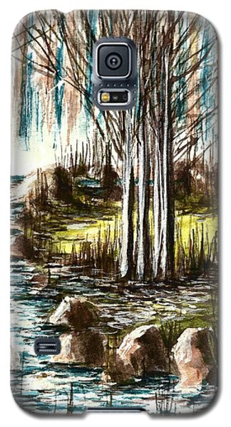 Just Around The Riverbend  Galaxy S5 Case