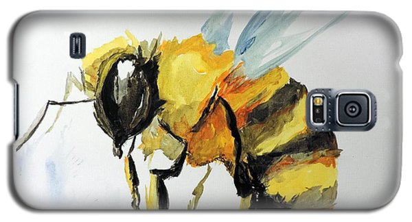 Galaxy S5 Case featuring the painting Just Beecause by Tom Riggs