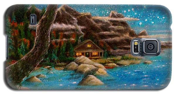Galaxy S5 Case featuring the painting Just Before Dawn by Matt Konar