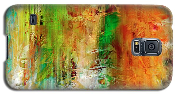 Just Being - Abstract Art Galaxy S5 Case