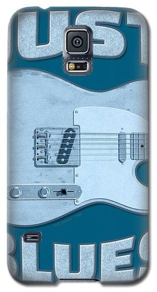 Just Blues Shirt Galaxy S5 Case