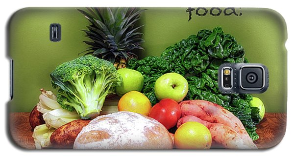 Just Eat Real Food Galaxy S5 Case