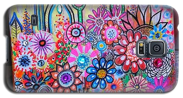 Galaxy S5 Case - Just Finished This Little 12 X12 by Robin Mead