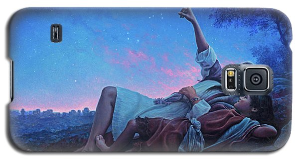 Galaxy S5 Case featuring the painting Just For A Moment by Greg Olsen