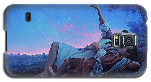 Planets Galaxy S5 Case - Just For A Moment by Greg Olsen